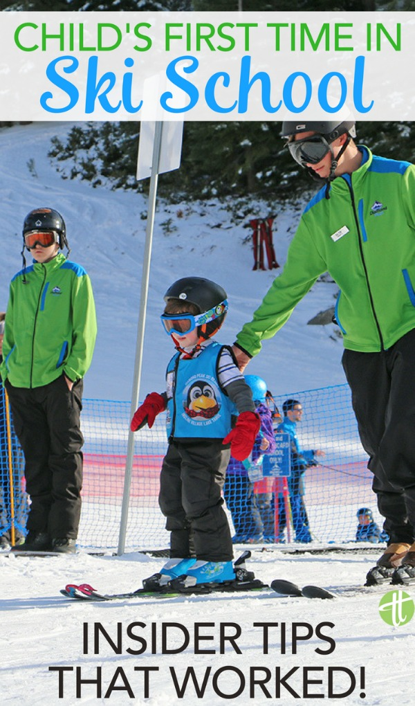 Enrolling your child in ski school for the first time? Insider tips and tricks for a successful first time on the slopes for preschoolers and young kids.