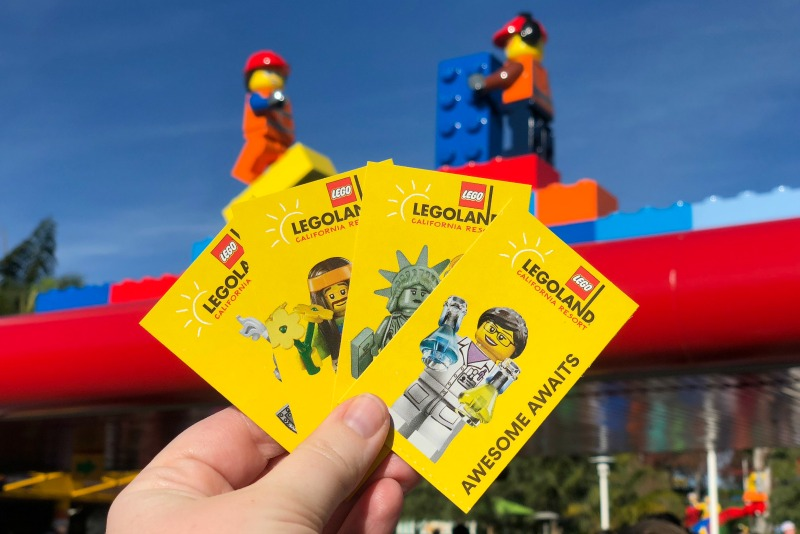 Legoland California on a Budget - Park Tickets