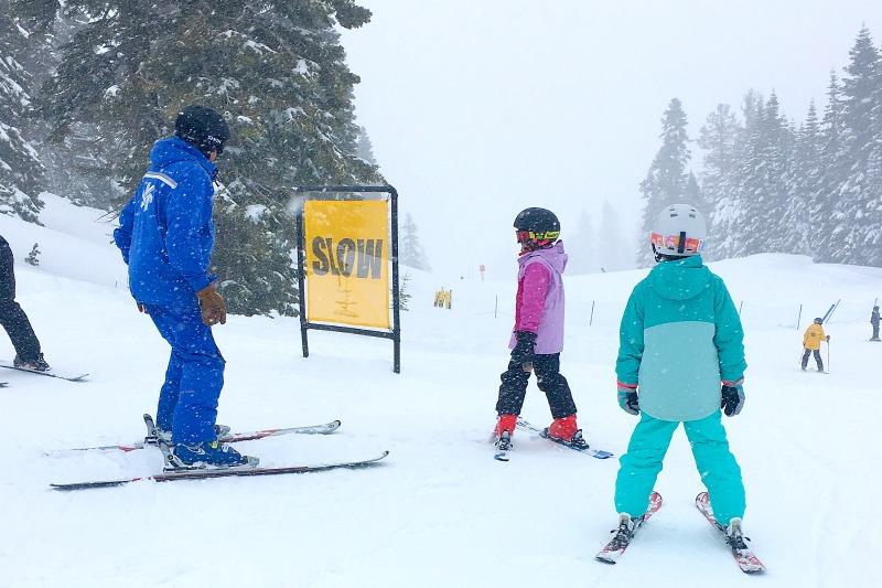Why Ski School is Worth It - 2 Girls Skiing