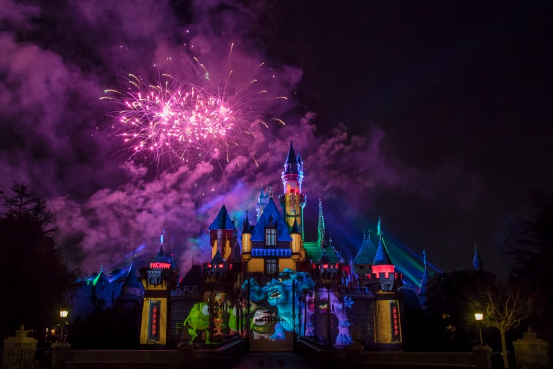 Disneyland Pixar Fest - Together Forever Castle Projections