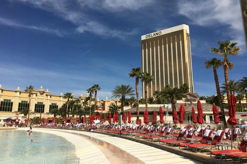 Kid-Friendly Hotels in Las Vegas - Delano and Mandalay Bay Beach