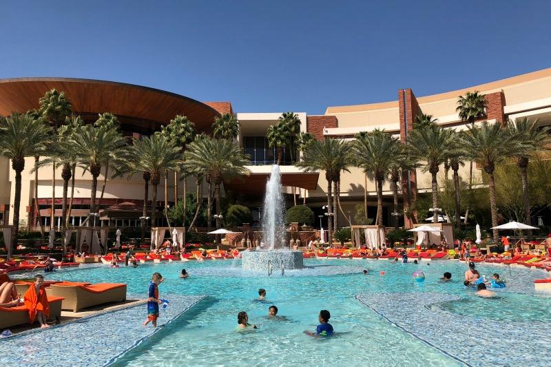 Kid-Friendly Hotels in Las Vegas - Red Rock Casino Pool