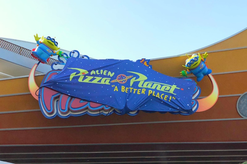 Pixar Fest at Disneyland - Alien Pizza Planet