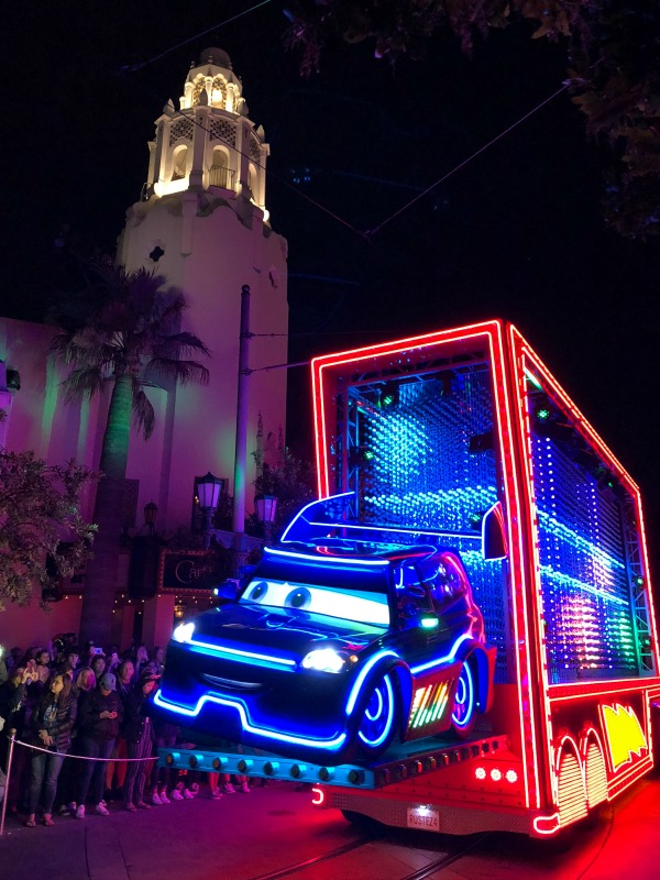 Pixar Fest at Disneyland - Paint the Night Cars