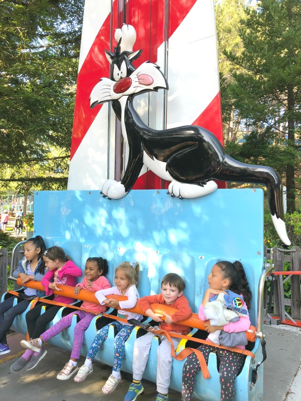 Six Flags Discovery Kingdom Tips - Looney Tunes Seaport Rides