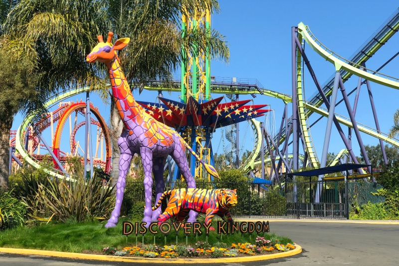 Six Flags Discovery Kingdom Tips - Entrance