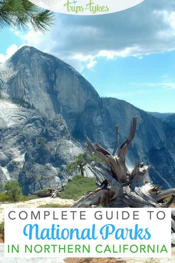 The ultimate guide to national parks in Northern California. Tips from a local for Yosemite, Sequoia & Kings Canyon, Lassen Volcanic, Pinnacles, and Redwood National Parks. #NationalPark #FindYourPark #KidsToParks #California #VisitCalifornia