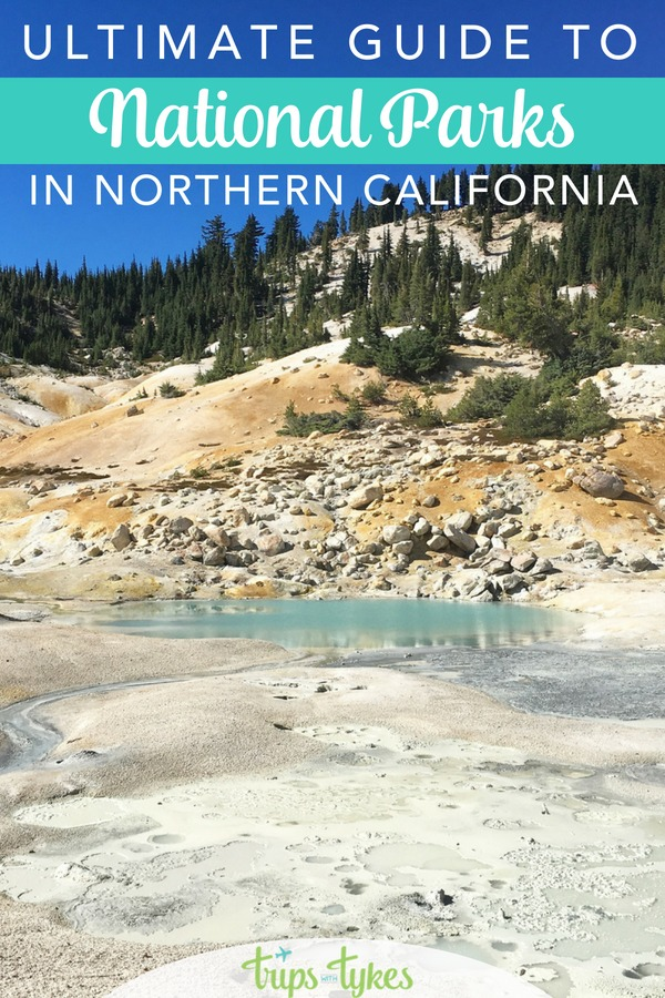 Visiting Northern California? Get outdoors at these top 5 national parks, from Yosemite to Lassen Volcanic and beyond. Tips for the best seasons to visit, great hikes, and how to get to each park by car or air. #NationalPark #FindYourPark #KidsToParks #California #VisitCalifornia