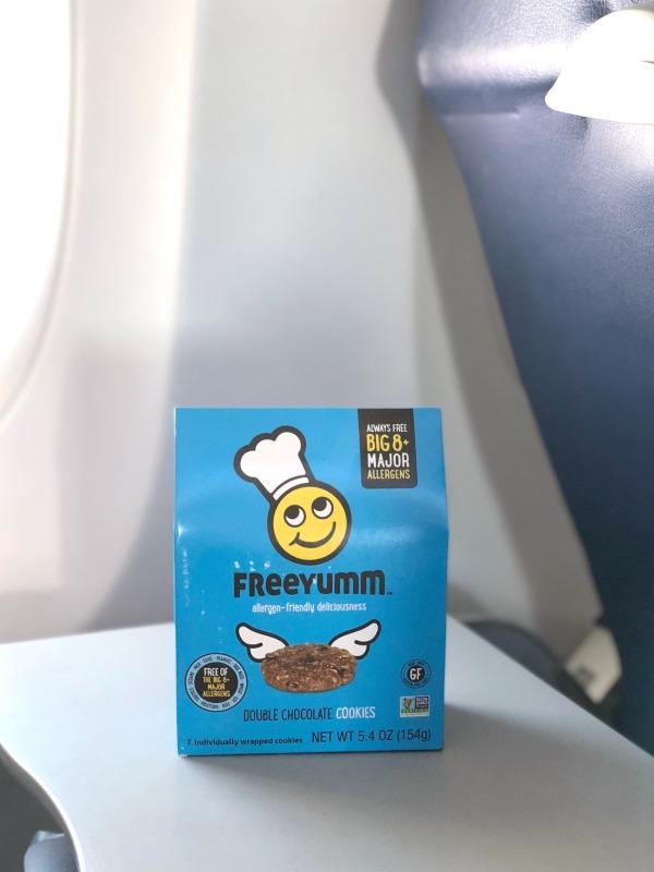Travel with Food Allergies - FreeYumm on the Plane