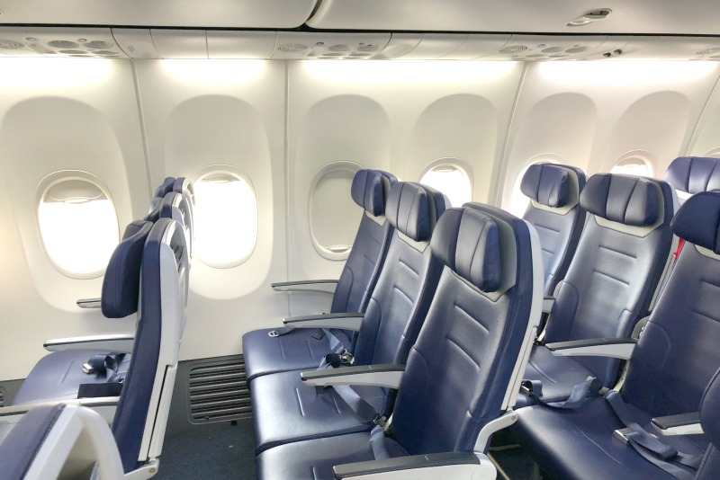 Travel with Food Allergies - Seats on a Southwest Plane