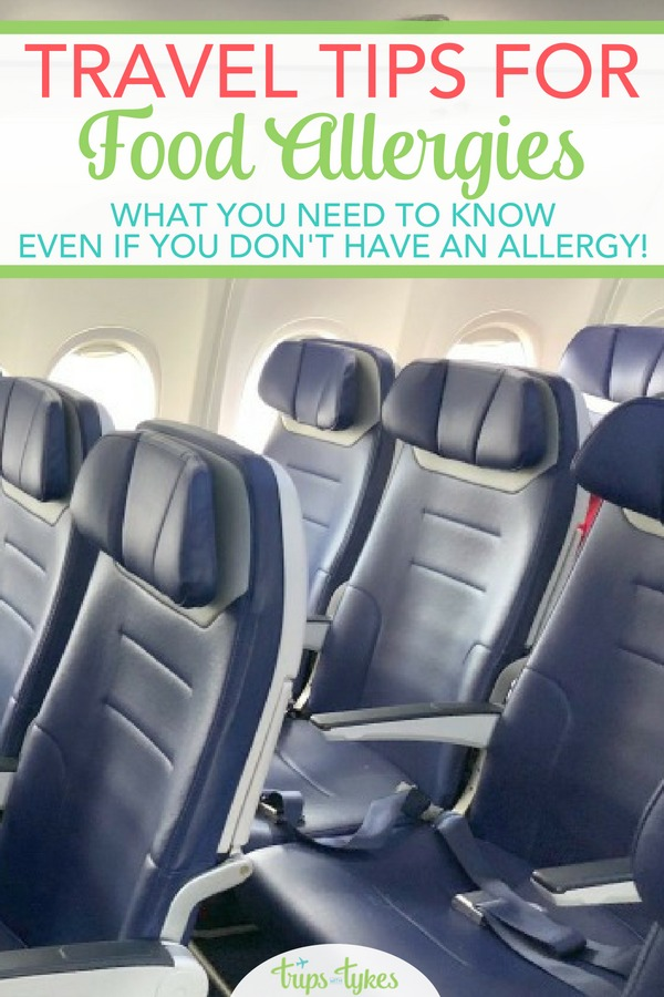 Traveling with a food allergy can be a challenge. Get tips for flying and road tripping safely. Plus, learn what all travelers - even those without food allergies - need to know! #travel #allergy #foodallergy #traveltip