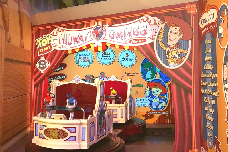 Toy Story Land Toy Story Midway Mania Ride Vehicles