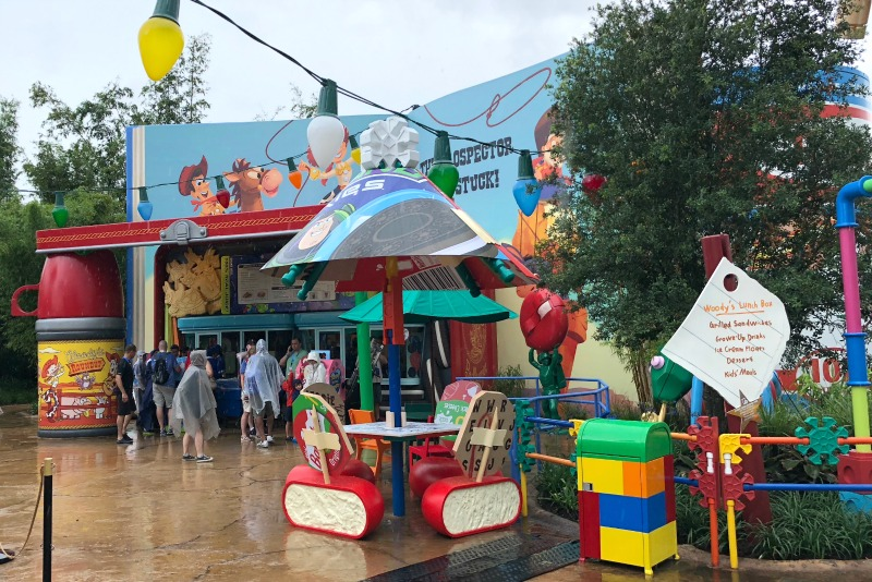 Toy Story Land Woodys Lunch Box