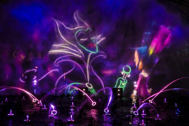 Disneyland Oogie Boogie Bash - World of Color Villainous