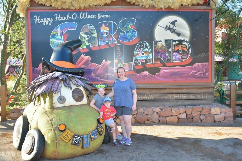 Halloween Time Disneyland Cars Land Haul-O-Ween