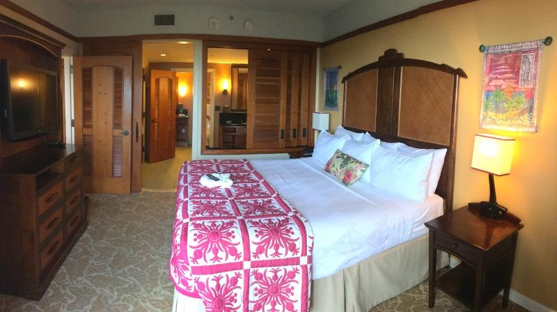 Disney Cruise vs. Disney Aulani - Aulani 1 bedroom DVC villa