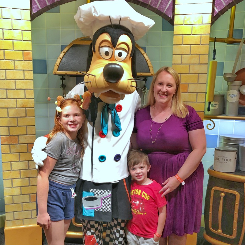 Goofys Kitchen Character Dinner at Disneyland