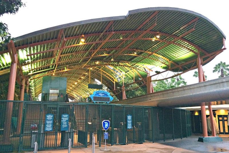 Disneyland Hotel - Monorail Station in Downtown Disney