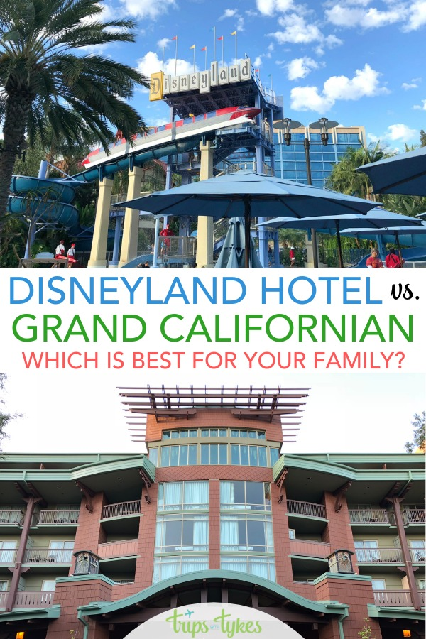 Disneyland Hotel vs. the Grand Californian - which Disneyland hotel is better? A complete comparison guide between Disney's Grand Californian and the Disneyland Hotel, the two most luxury hotels by the parks in Anaheim, California. A look at cost, location, rooms, restaurants, and other amenities. #disneyland #disneylandhotel #grandcalifornian #luxurytravel #disney