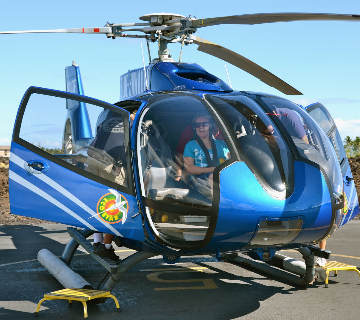 Hawaii Big Island with Kids - Blue Hawaiian Helicopter Tour