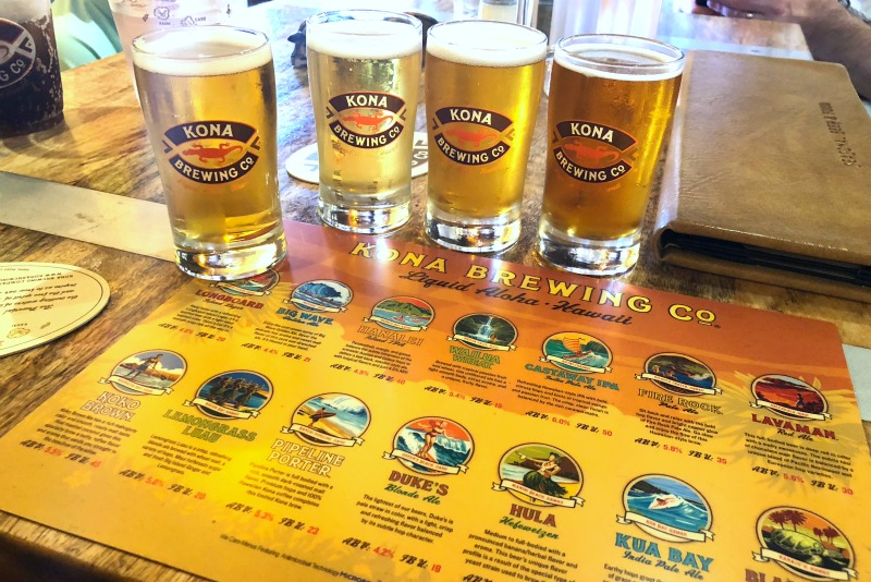 Hawaii Big Island with Kids - Kona Brewing Company