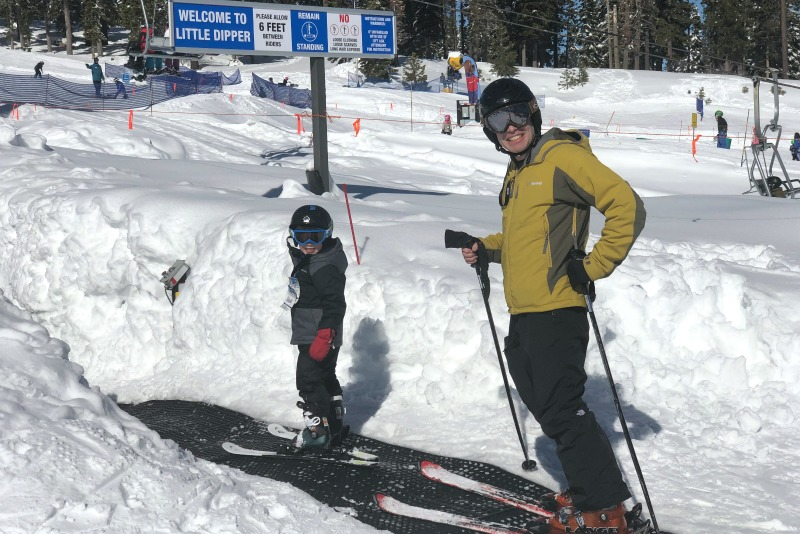 Kid-Friendly Ski Resorts - Father Son Magic Carpet