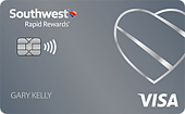 Southwest Rapid Rewards Plus Credit Card - December 2020 Card Art
