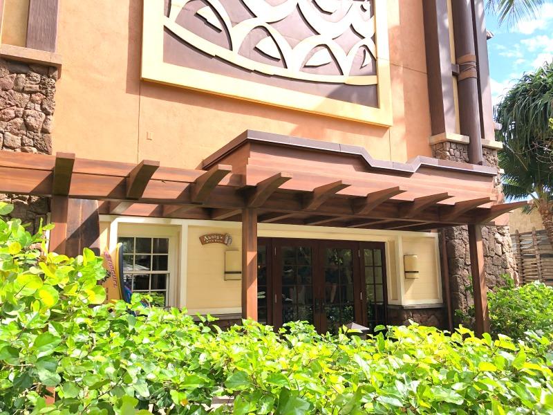 Disney Aulani Auntys Beach House - External Shot