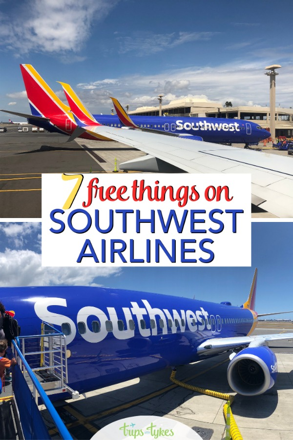 Did you know more than just checked bags are free on Southwest Airlines? Explore 7 freebies on Southwest that other US airlines charge money for to help stick to your travel budget. #southwest #southweststorytellers #southwestairlines #airtravel #budgettravel