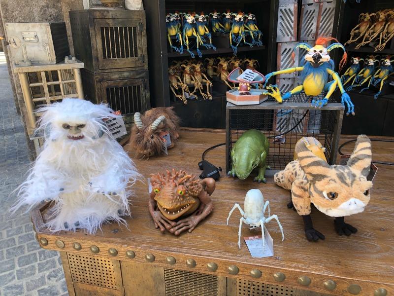 Star Wars Galaxys Edge Disneyland - Creature Stall