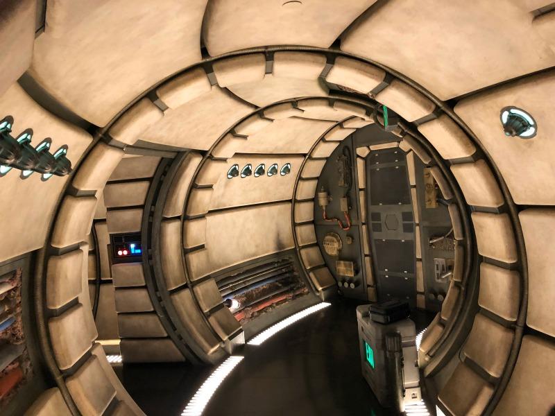 Star Wars Galaxys Edge Disneyland - Falcon Inside