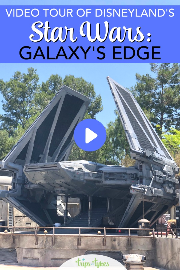 Star Wars: Galaxy's Edge is open at Disneyland! Take a full video and photo tour of the Millennium Falcon, restaurants, merchandise and more from Black Spire Outpost on the planet Batuu! #disneyland #galaxysedge #starwars