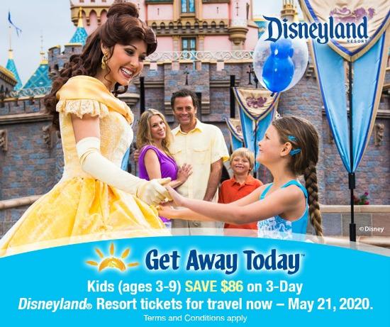 Get Away Today Kids Spring Ticket Deal 2020