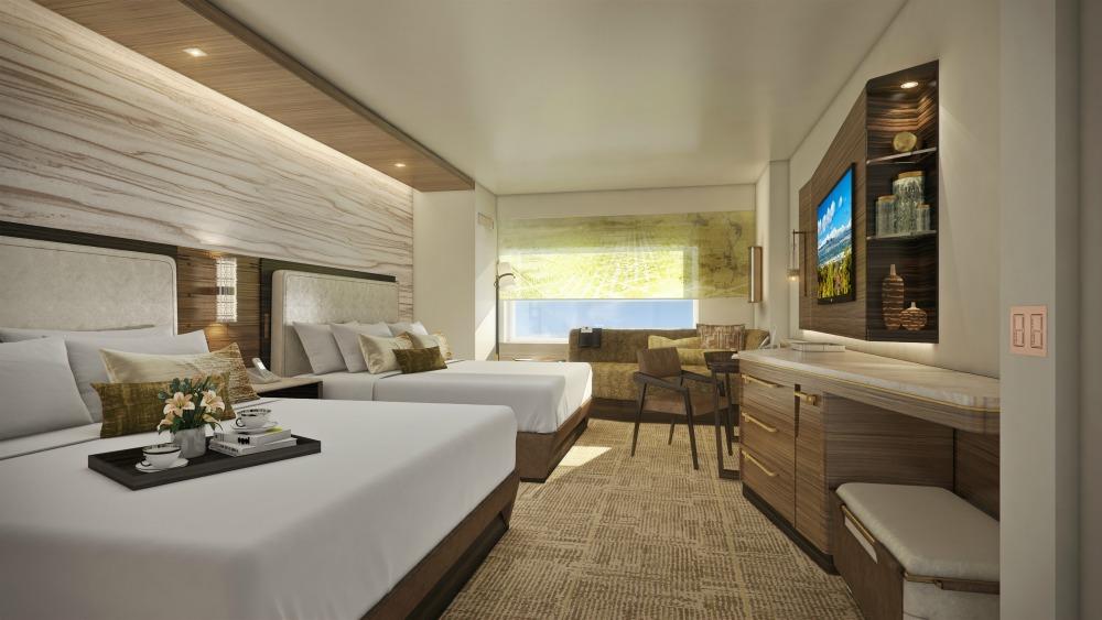 JW Marriott Anaheim Queen Room