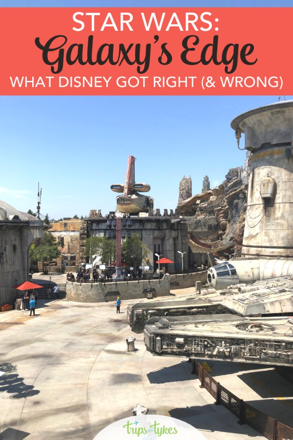 Hits and misses of Disney's Star Wars: Galaxy's Edge. Find out what Disney got right and what could be improved in this full Star Wars Land review. #galaxysedge #disneyland #starwars