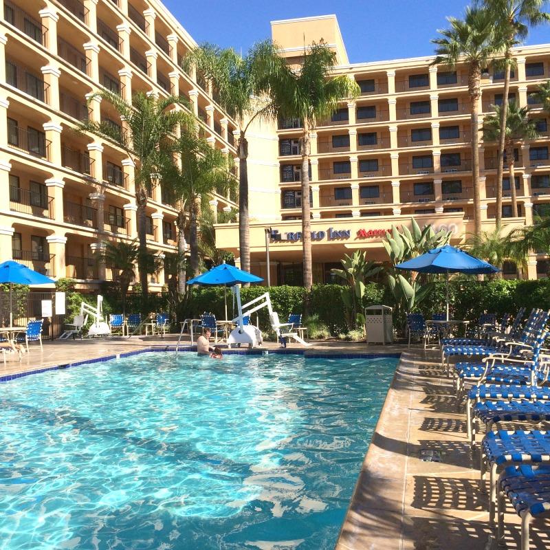 Fairfield Inn Anaheim Hotel Pool
