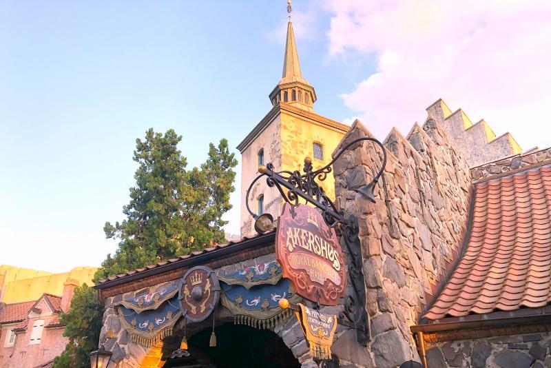 Frozen Ever After Disney World - Akershus Character Breakfast