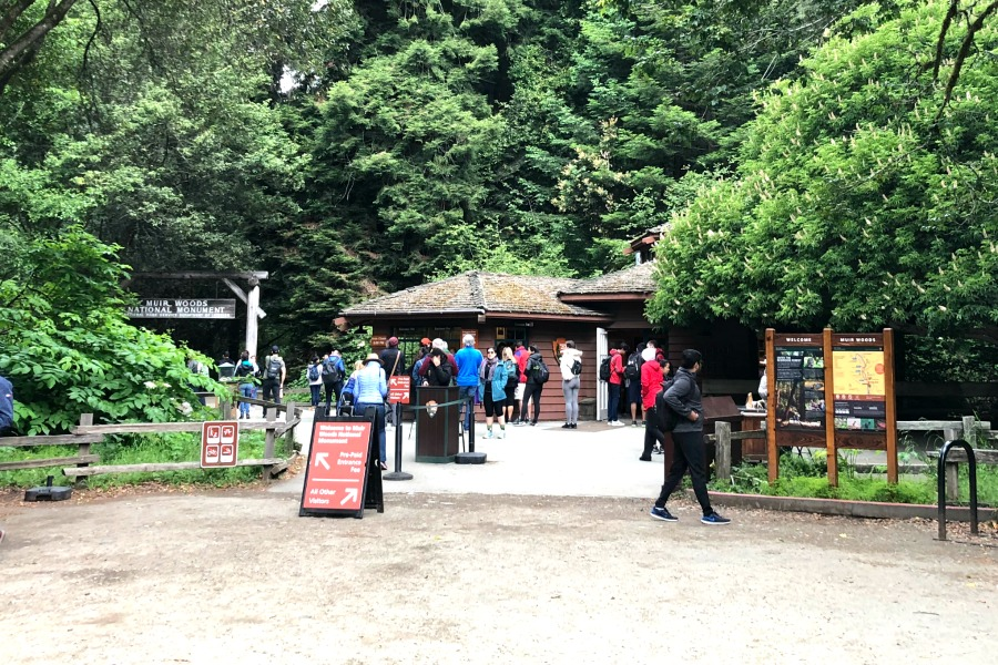 Muir Woods Entrance and Visitor Center