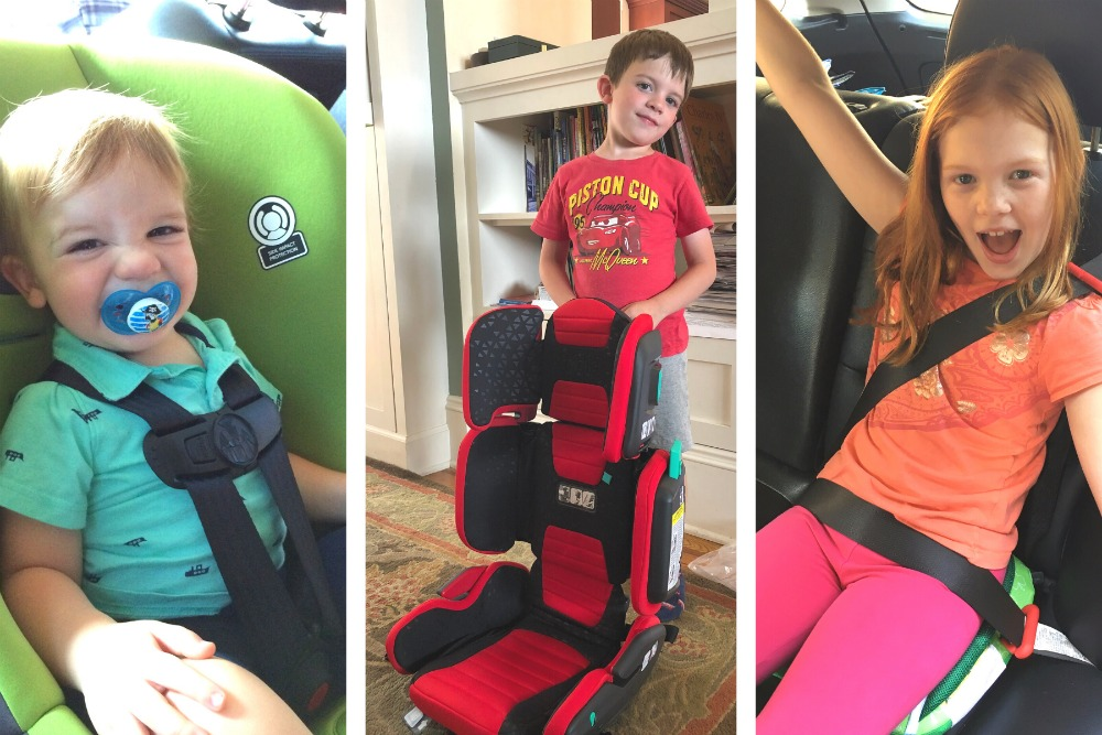 Car Seats and Boosters for Air Travel with Kids
