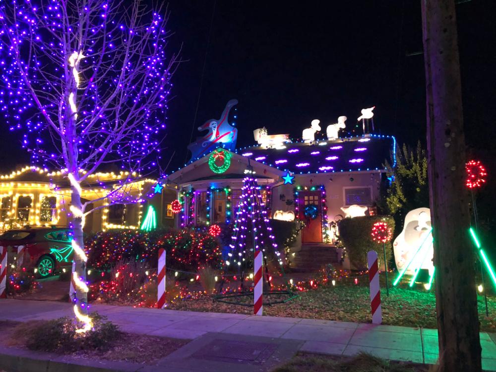 Christmas Tree Lane Alameda CA