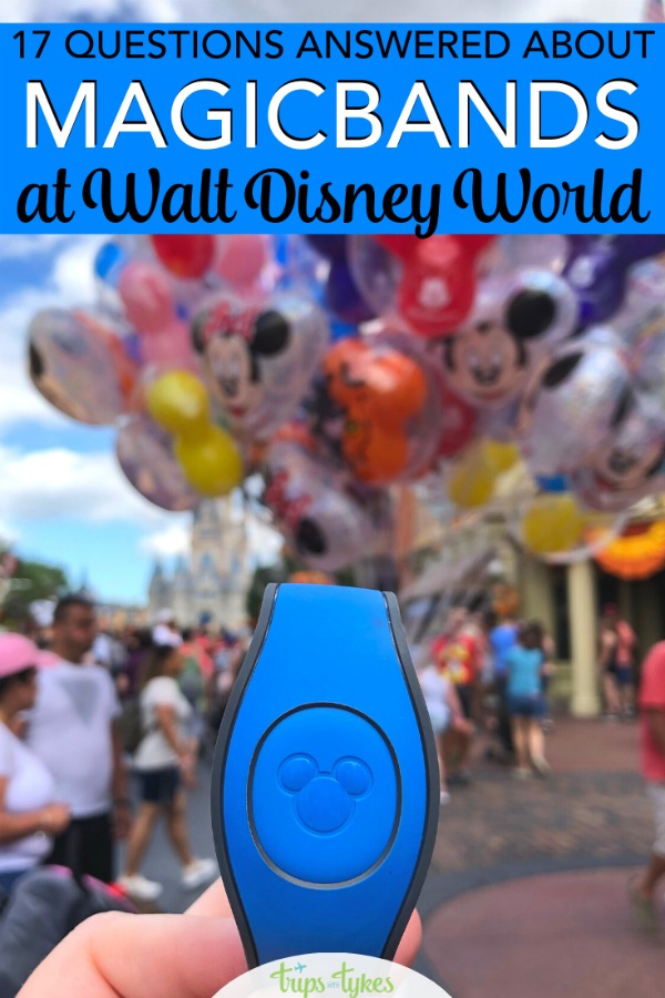 All your questions answered about MagicBands at Walt Disney World. How to use MagicBand 2.0 for park tickets, Fastpass+, to charge to your hotel room credit card, and more. Plus details on DIY decorating and customization. #disneyworld #disney #magicband