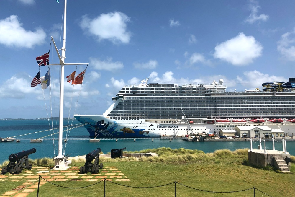 First Timers First Timers Guide to Bermuda - Cruise Ship at Royal Naval DockyardGuide to Bermuda - Bermuda