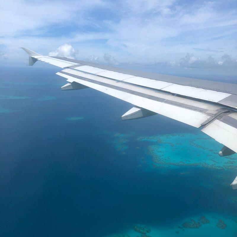 American Airlines Flight Landing at LF Wade Airport in Bermuda