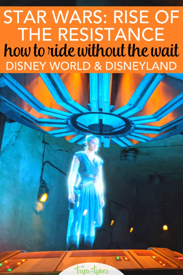 Star Wars: Rise of the Resistance is the second attraction in Star Wars: Galaxy's Edge at Disney World and Disneyland. Learn how to deal with the crowds and lines and get insider tips in this regularly-updated strategy guide. As Disney changes its queuing procedures, be the first to find out the newest tested hacks! #riseoftheresistance #galaxysedge #disney #starwars