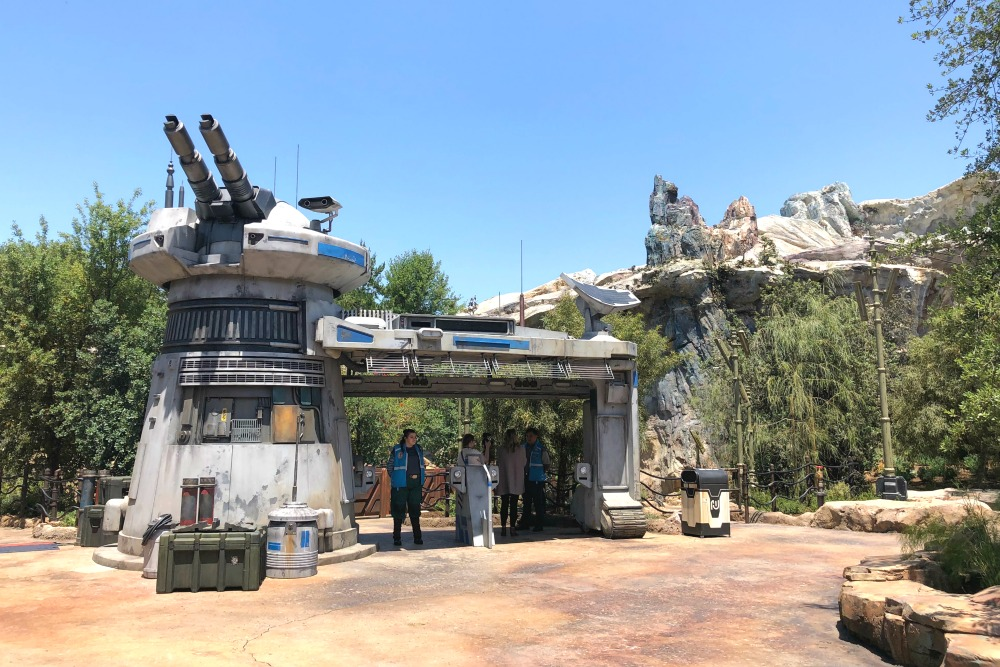 Star Wars Rise of the Resistance at Disneyland
