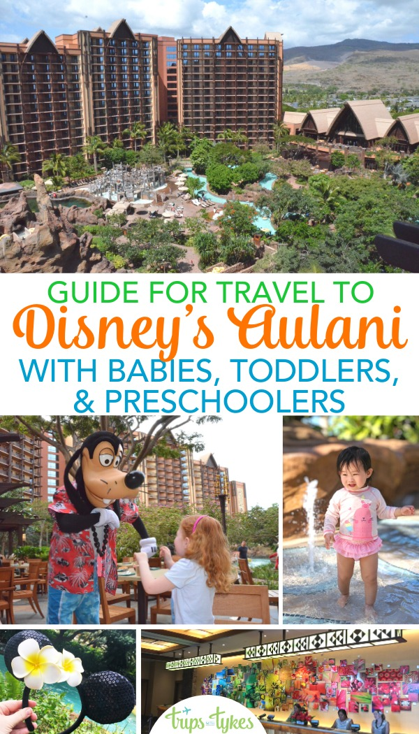 Considering a Disney Aulani vacation in Hawaii with young kids? The best activities, food, tips, and secrets for Aulani travel with babies, toddlers, or preschoolers. #disneyaulani #aulani