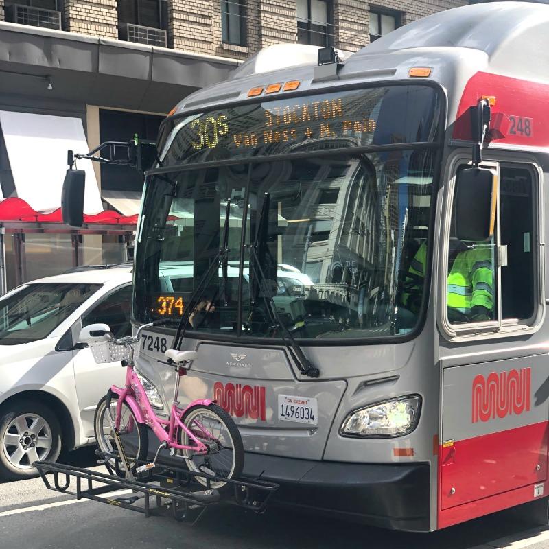 San Francisco Transit - Muni Bus