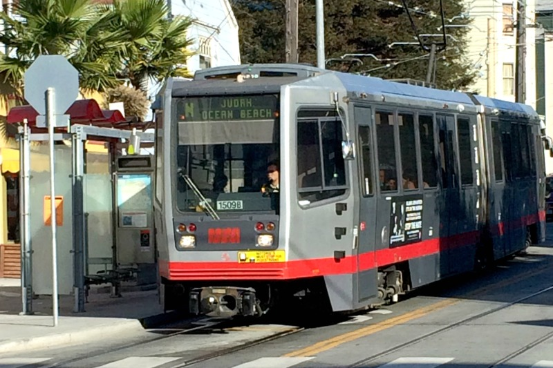San Francisco Transit - N Judah Muni Metro Line