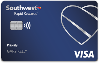 Southwest Rapid Rewards Priority Card Art February 2021