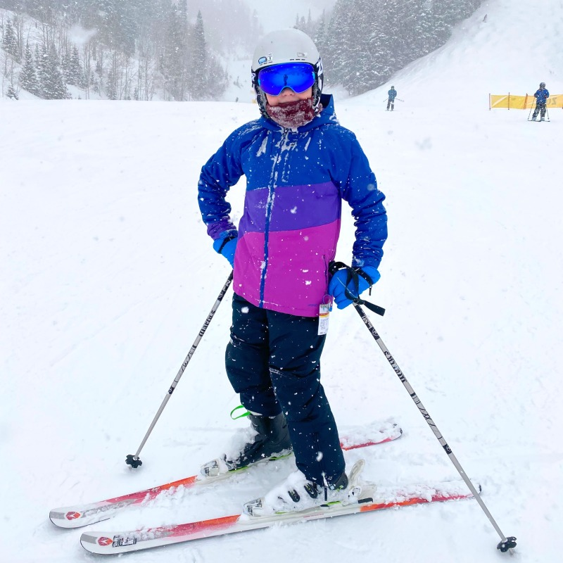 Park City Mountain Utah Child Skiing